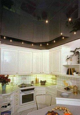 Дизайн интерьера натяжные потолки