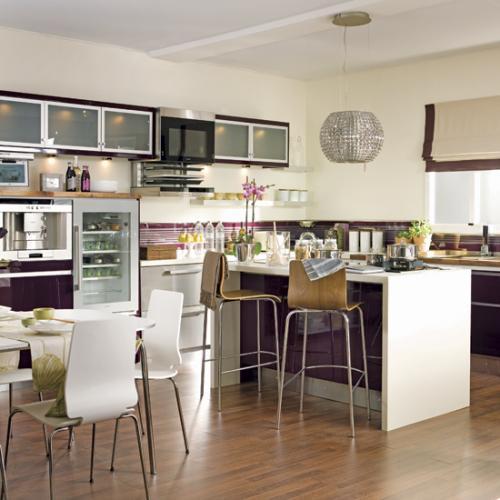 Дизайн кухни - студии