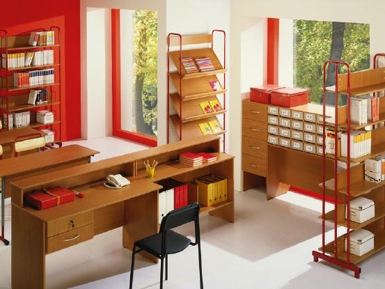 Хорошее оформление школьной библиотеки дает ощущение гостеприимства и...