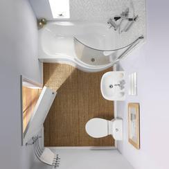 фото небольшой ванной комнаты