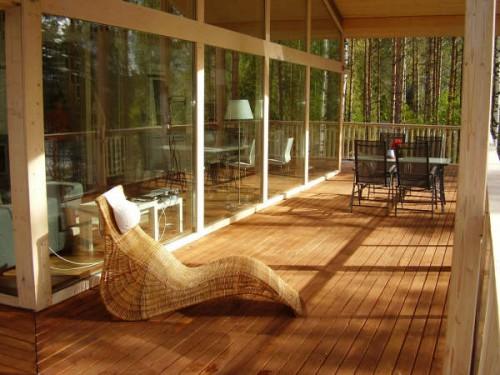 конструкции современных деревянных коттеджей