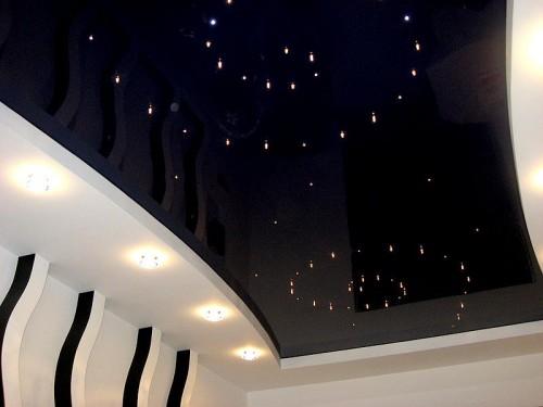 Выбор освещения для натяжного потолка