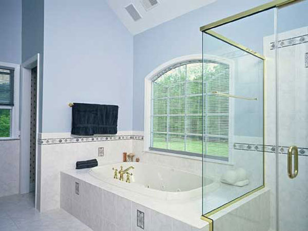 Дизайн ванной комнаты в загородном
