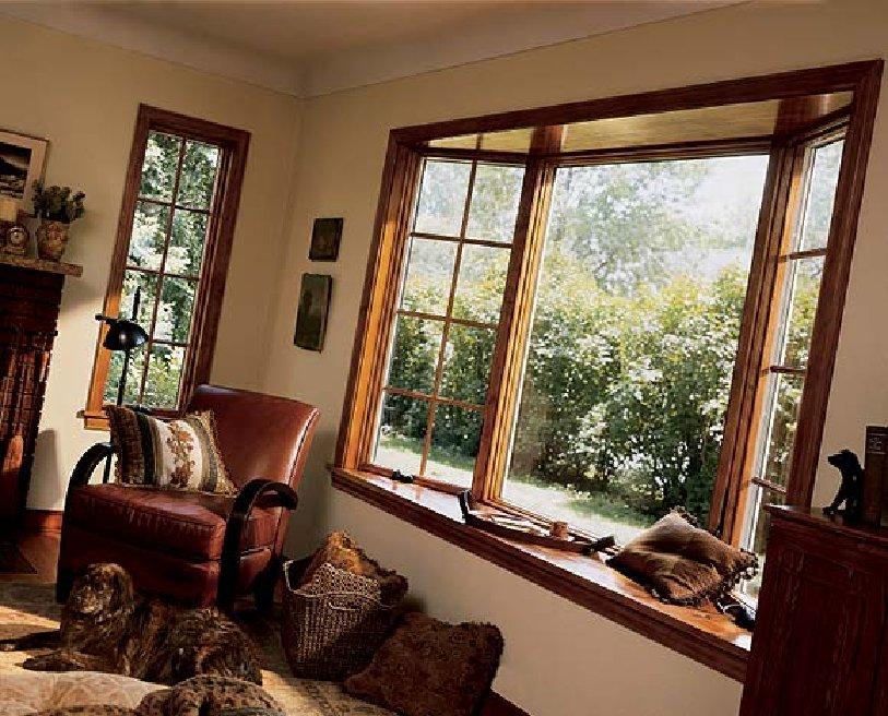 Окна в интерьере домов