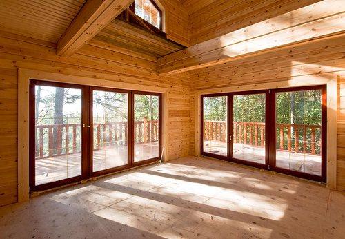 Причин купить дом из клееного бруса
