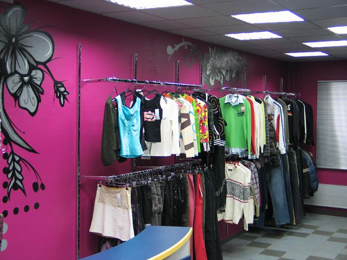 Идеи для оформления магазина одежды фото