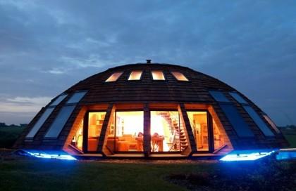 Интерьер купольного дома