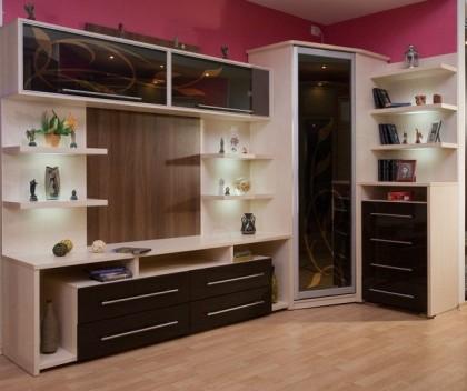 Как переделать мебельную стенку