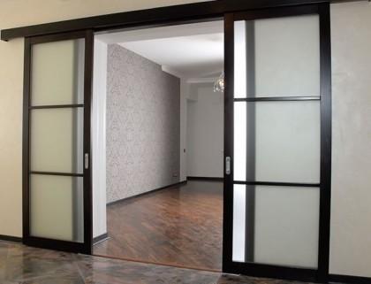 Изготовление раздвижных дверей