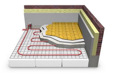 Основным элементом теплого электрического пола является система та или иная схема прокладки соединительных...