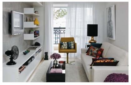 Как правильно расставить мебель в маленькой комнате