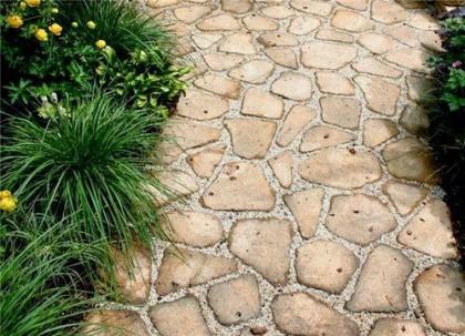 Дорожки из натурального камня