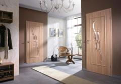 Шпонированные гладкие двери