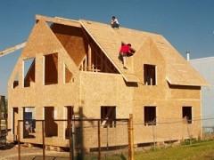 Строительство дачных щитовых домов