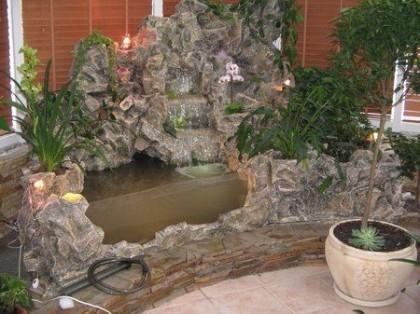 Как сделать водопад в квартире?