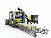 установка для производства плитки, блоков и бордюров