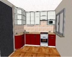 Дизайн кухни в «хрущевке»