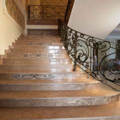Облицовка лестниц керамогранитом