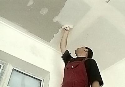 Как шпаклевать потолок из гипсокартона?