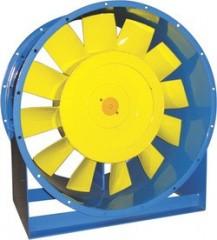 вентиляторы осевые для подпора воздуха в системы дымоудаления