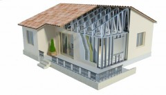 построить дом из лстк