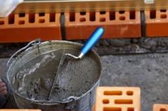 Как приготовить раствор для кладки кирпича