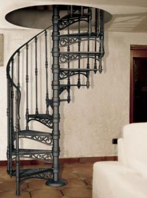 Чугунные лестницы как предмет декора