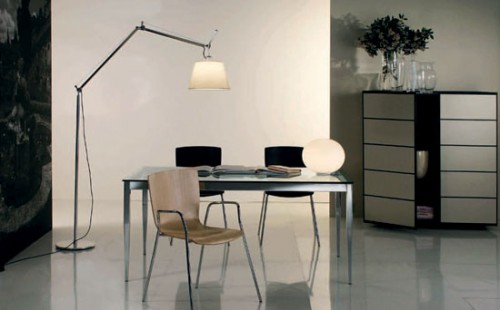 Дизайн интерьера квартиры-студии в стиле техно
