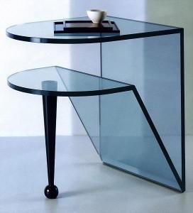 Дизайн интерьера с элементами стекла