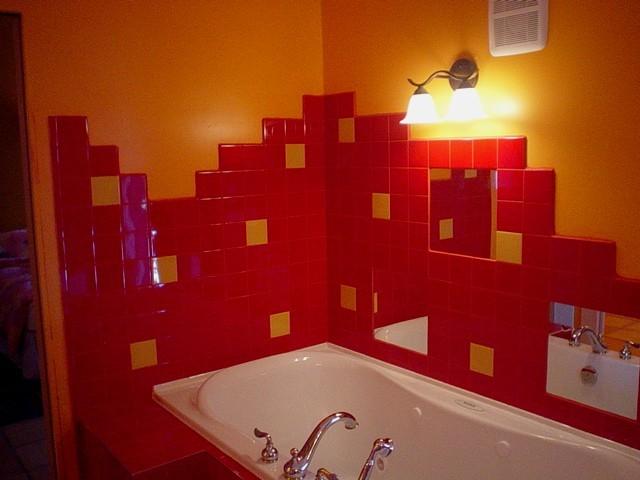 Варианты ванных комнат в панельных домах фото