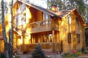 Защита деревянных домов от пожара