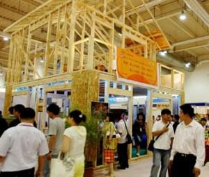 Выставка строительных материалов