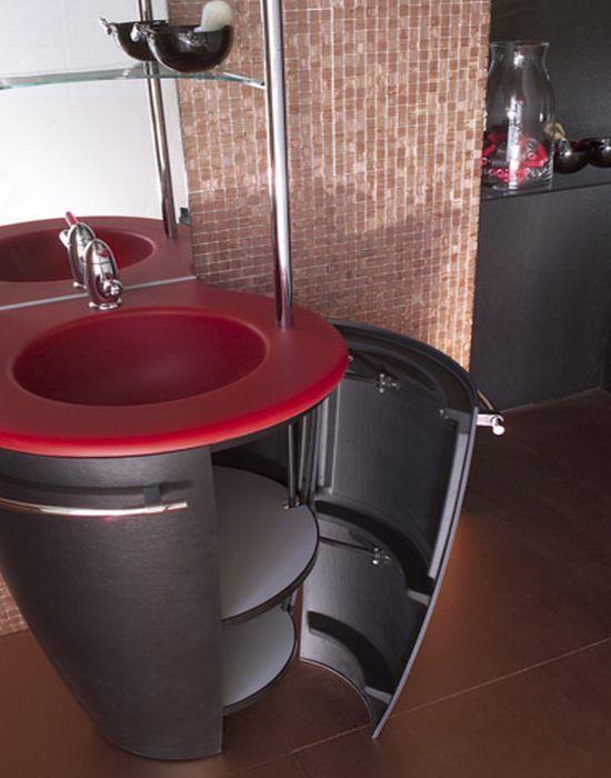 Мебель в ванной комнате – это такой же