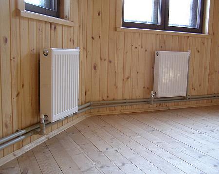 Кто делал сам отопление в доме