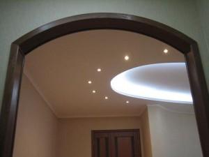 Arch interior wood