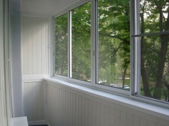 Balcony glazing aluminum profile provedal