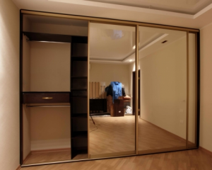 Building doors for wardrobes