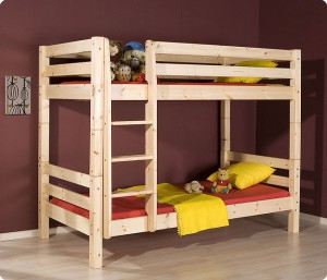 Bunk bed for a child