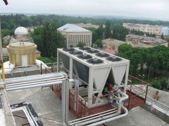Chiller-fan-coil system