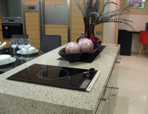 Countertops made of artificial stone