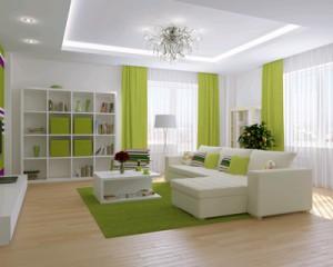 Decorating an apartment
