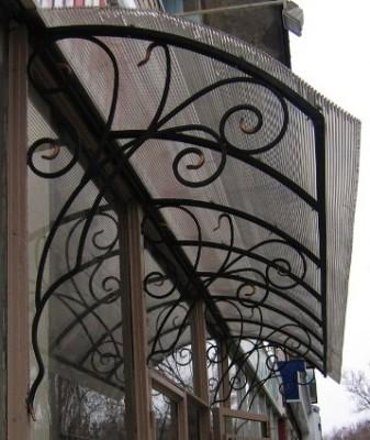 Декоративные навесы над крыльцом, Decorative awnings over the porch