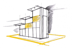 Design of the exhibition stand