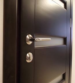 Doors made of natural array