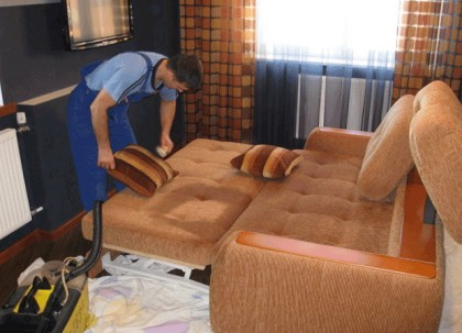 Dry Cleaning sofas
