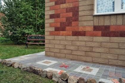 Облицовочная керамическая плитка для фасадов