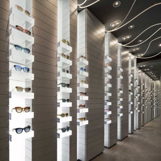 Furniture and equipment for opticians