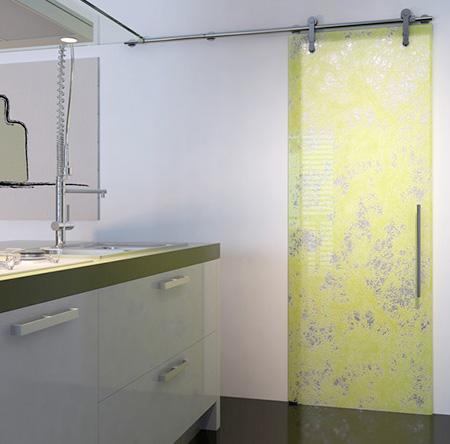 Дизайн интерьера и стеклянные двери
