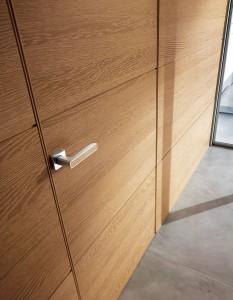 Hidden doors for industrial premises