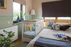 How to put a bed in the nursery